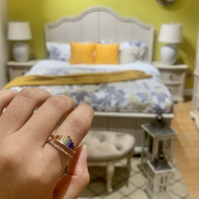 S925 Double Band  Rainbow Ring - storyjewellery photo review