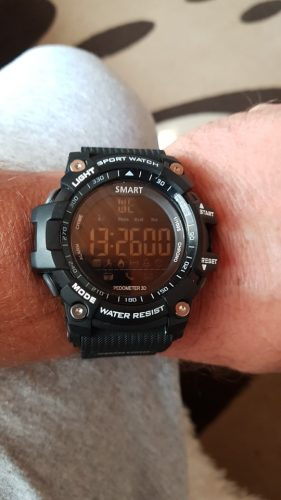 The Strong IP67 Waterproof SmartWatch For ios & Android photo review