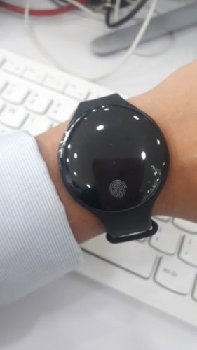 The Fingerprint Intelligent Bluetooth Smart Watch for iOS & Android photo review