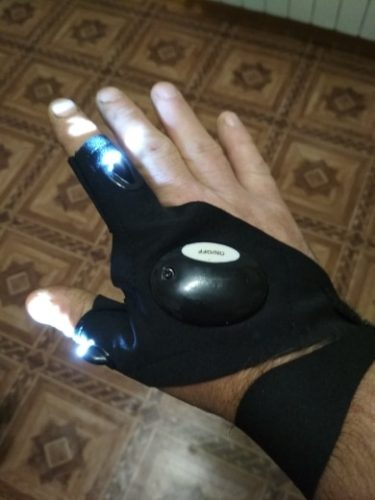 LED Gloves with Waterproof Lights - urlife photo review