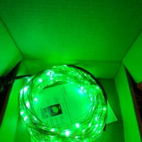 Connected Christmas LED lights 5M 50 LED - xmaslighttree photo review