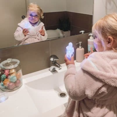 Kids 360° Automated Electric Toothbrush - hellohappyteeth photo review
