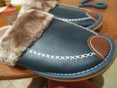The Alpha Slippers - vivsix photo review