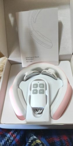 AuNEC Portable Wireless Neck Massager photo review